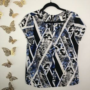 🦋🌙 NY COLLECTION   Multi Pattern Blue Print